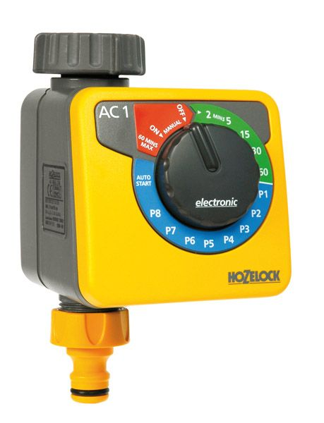 Hozelock Aqua Control Water Timer - Simple Water Timer